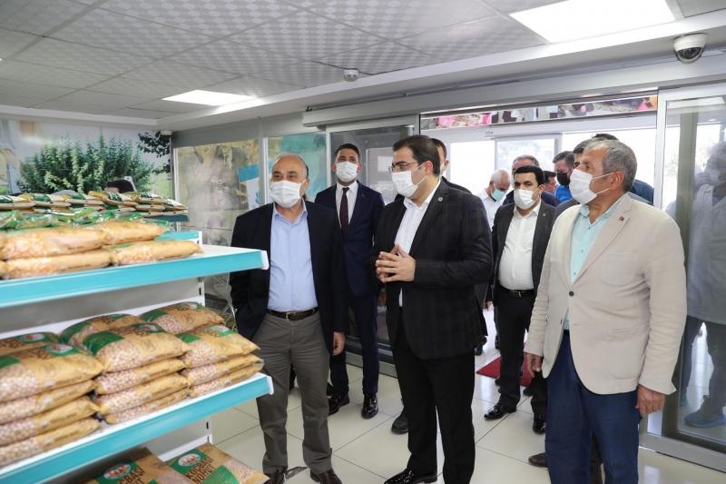 Fakıbaba,Haliliye Belediyesi Sosyal Yardım Kompleksini Gezdi: Yürekten Kutluyorum -(Video)