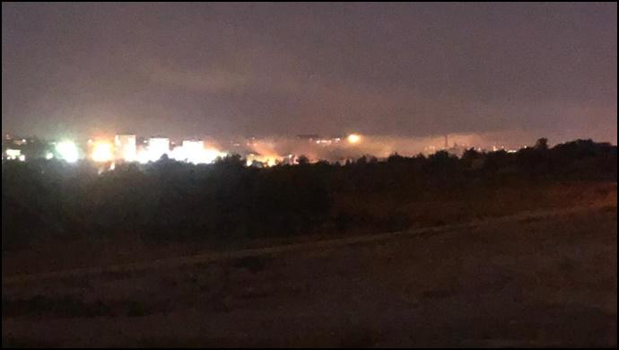 FLAŞ … Tugayda 2 şiddetli patlama …(Videolu)