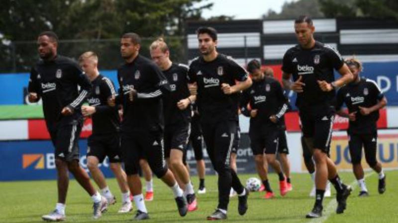 Beşiktaş Galatasaray  maçı hazırlıklarına başladı
