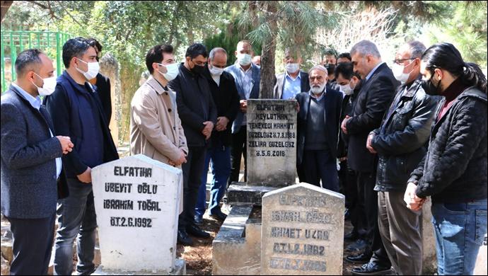 Gazelhan Tenekeçi Mahmut Mezarı Başında Anıldı-(VİDEO)