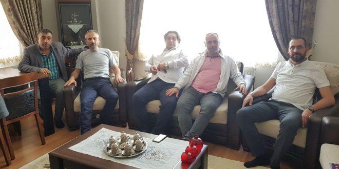 Gazeteci Kuş ve Aslan'dan Hakan Yiğit'e Geçmiş Olsun Ziyareti