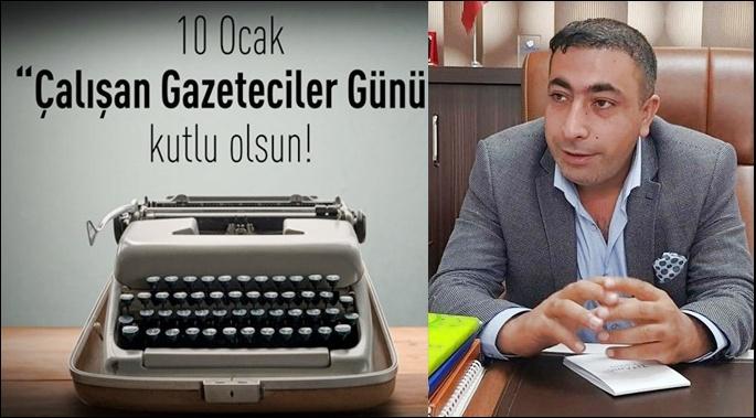 Gazeteci Kuş'den Çalışan Gazeteciler Günü Mesajı