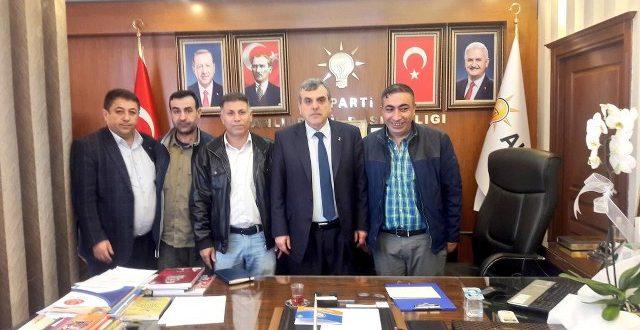 Gazetecilerden AK Parti İl Başkanı Beyazgül'e Hayırlı Olsun Ziyareti