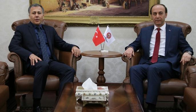 GAZİANTEP VALİSİ ŞANLIURFA'DA