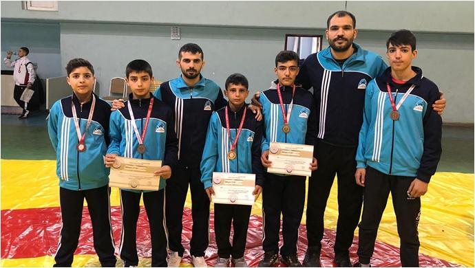 Gaziantep'teki Müsabakalarda Eyyubiyeli Sporcular Damga Vurdu