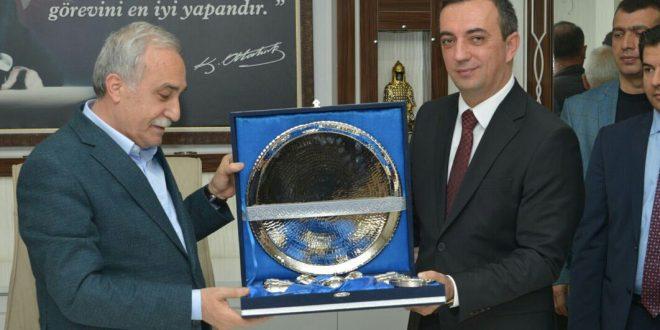 Gıda, Tarım ve Hayvancılık Bakanı Fakıbaba Suruç'ta