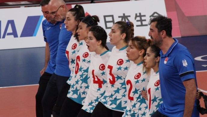 Goalball kadın takımı yarı finalde