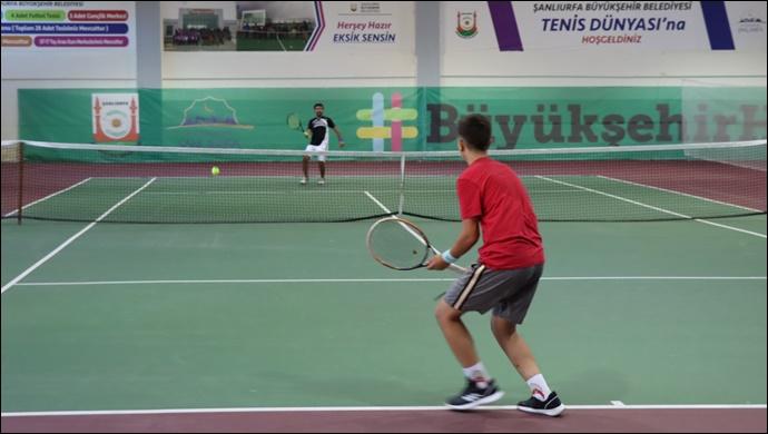 Göbeklitepe Cup Tenis Turnuvası Başladı-(VİDEO)