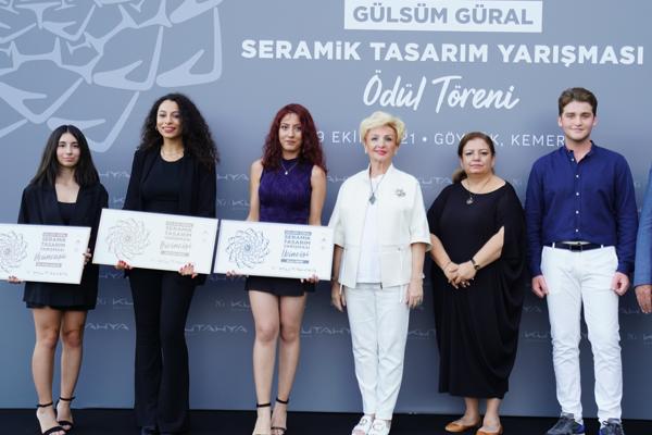 'Gülsüm Güral Seramik Tasarım Yarışması Ödülleri' Mimarlar Haftası'nda sahiplerini buldu