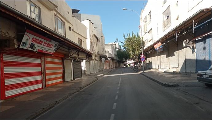 Haftalar sonra yeniden başladı: Yasakta Şanlıurfa sokakları boş kaldı