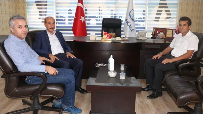 Hakim ve Hekim Kardeşlerden Başkan Yalçınkaya'ya Anlamlı Ziyaret-(VİDEO)