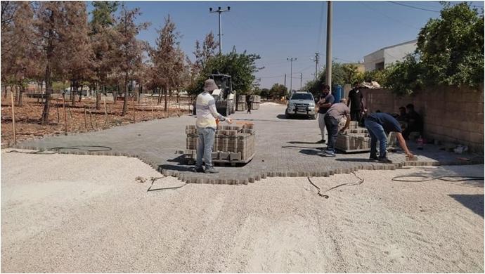Halfeti'de Vatandaşlar Yol Çalışmalarıyla Yazın Tozdan, Kışın Çamurdan Kurtuluyor