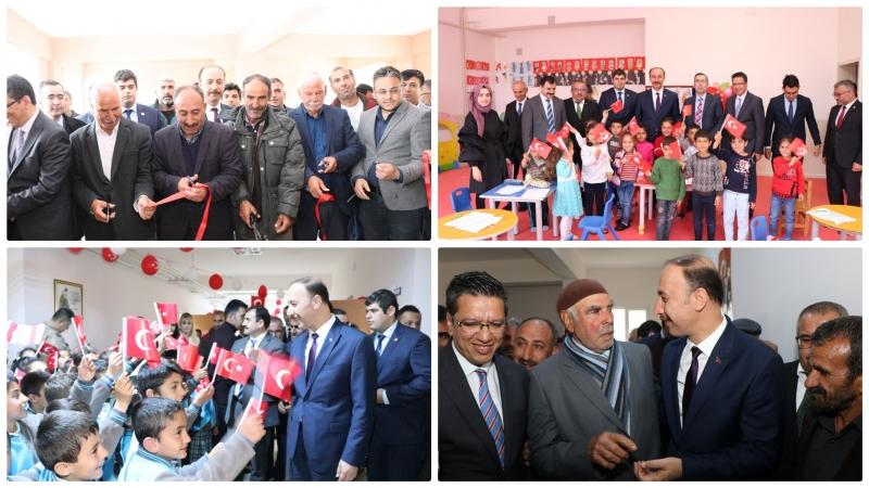 Halfeti'de Yeni Okullar Hizmete Sunuldu-(Videolu)