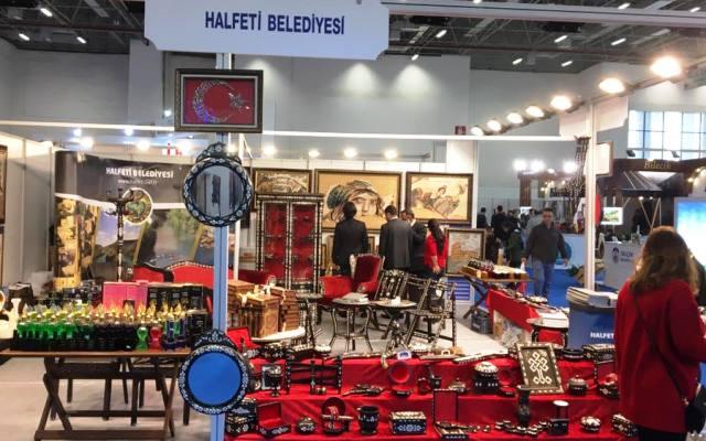 Halfeti'nin güzellikleri 'Travel Turkey İzmir' fuarında sergilendi