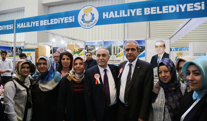 Haliliye belediyesi inşaat, mobilya ve dekorasyon fuarında yerini aldı