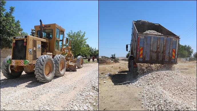 Haliliye Belediyesi, Kırsalda Yol Yapım Çalışmalarına Devam Ediyor-(Videolu)