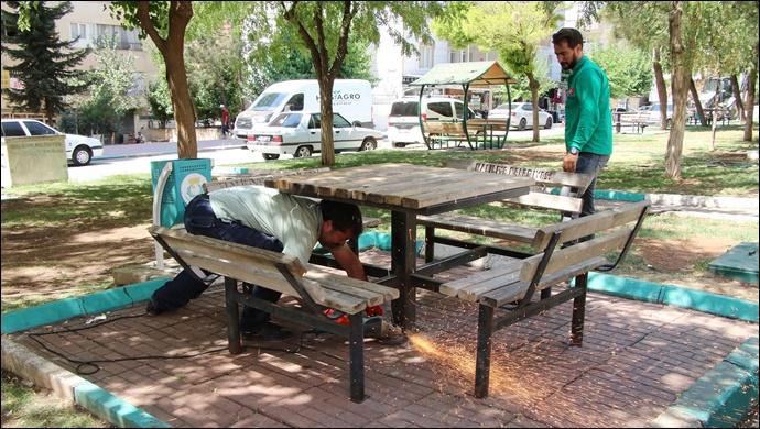 Haliliye Belediyesi, 4 parkı yeniliyor-(VİDEO)