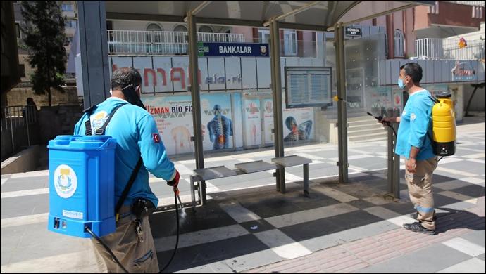 Haliliye Belediyesi, Salgınla Mücadelede Tedbiri Elden Bırakmıyor-(VİDEO)