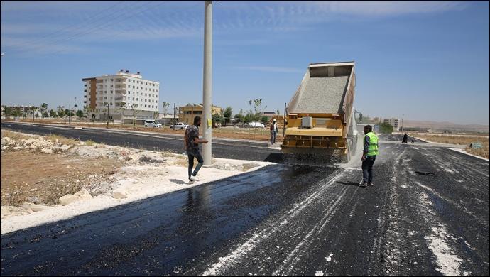 Haliliye Belediyesinden kırsal ve merkezde asfalt atağı-(VİDEO)