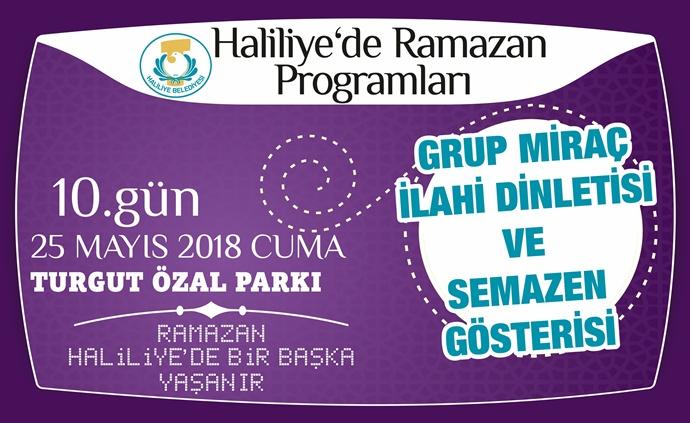Haliliye Belediyesinin İftar Programı