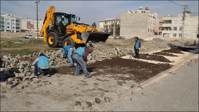 Haliliye belediyesinden 5 mahallede yol çalışması-(VİDEO)