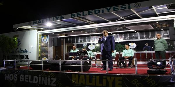Haliliye belediyesinin ramazan ayı etkinlikleri devam ediyor