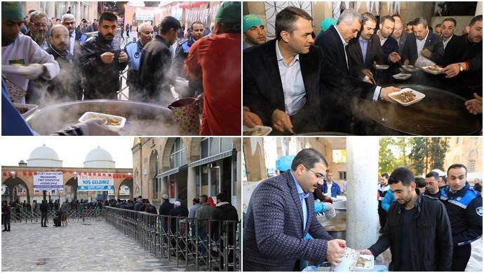 Haliliye Belediyesinde Vatandaşlara Tirit İkramı-(Videolu)