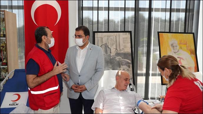 Haliliye Belediyesinden Kan Bağışına Destek