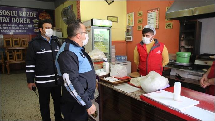Haliliye Belediyesinden Sıkı Pandemi Denetimi-(VİDEO)