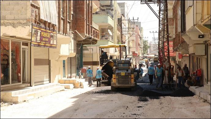 Haliliye Belediyesinden Devteyşti'nde Asfalt Çalışmaları