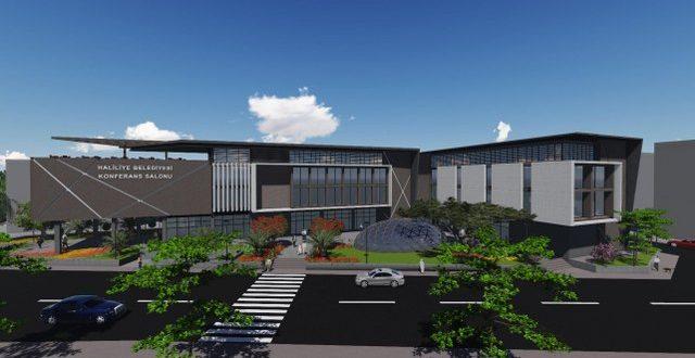 Haliliye Belediyesi'nin Gençlik ve Kültür Merkezi Hızla Yükseliyor