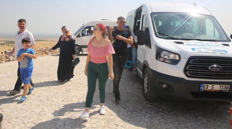 Haliliye Belediyesinden, Göbeklitepe'ye Araç Desteteği-(Videolu )