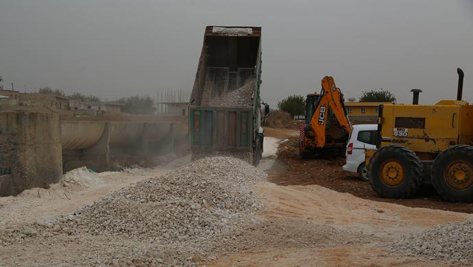 Haliliye Kırsalında Yol Çalışmaları Sürüyor-(VİDEOLU)
