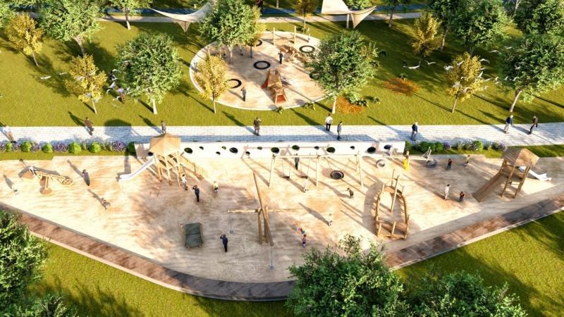 Haliliye Millet Bahçesi İhaleye Çıkıyor-(VİDEO)