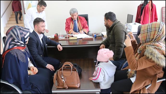 Haliliye'de 14 Şubat'ta 49 Nikah Kıyıldı-(Videolu)
