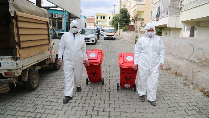Haliliye'de Adım Başı Önlem: Tıbbi Atık Kutuları Dağıtılıyor -(VİDEO)