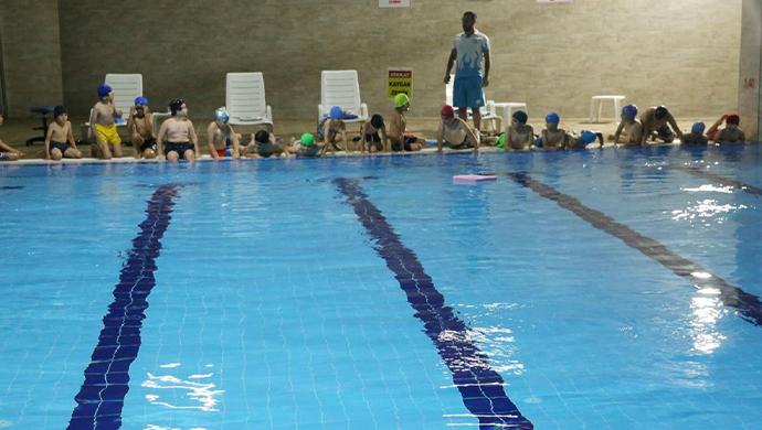 Haliliye'de Çocuklara yönelik yüzme kursu başladı-(VİDEO)