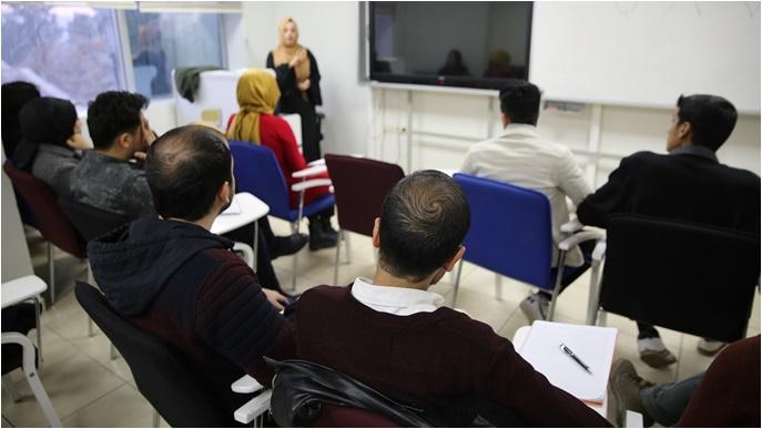Haliliye'de İşaret Dili Eğitimi Sürüyor-(Video)