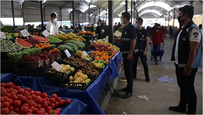 Haliliye'de Kurulacak Pazar Yerleri-(VİDEO)