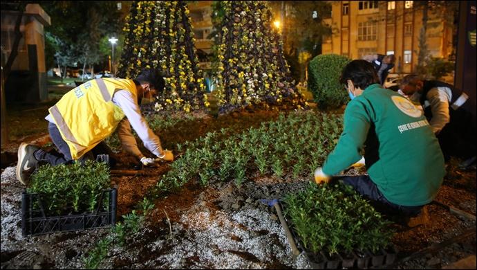 Haliliye'de Parklar, Peyzaj Çalışmaları İle Güzelleşiyor-(VİDEO)