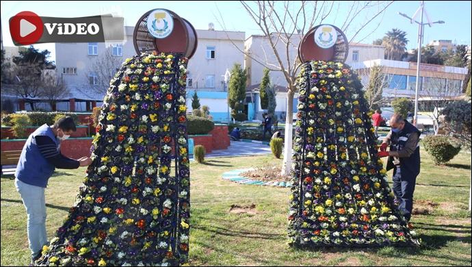 Haliliye'de Parklarda Bahar Çalışmaları