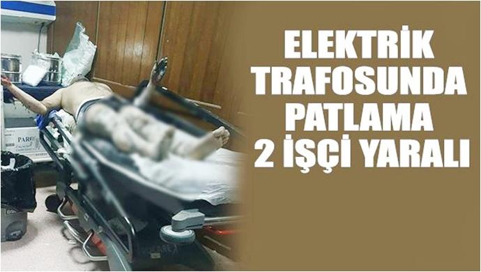 Haliliye'de  Trafo Patladı: Yaralılar Var