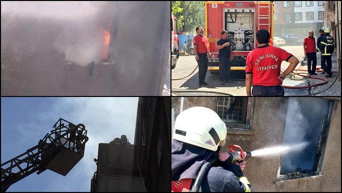 Haliliye'deki Yangın Korkuttu