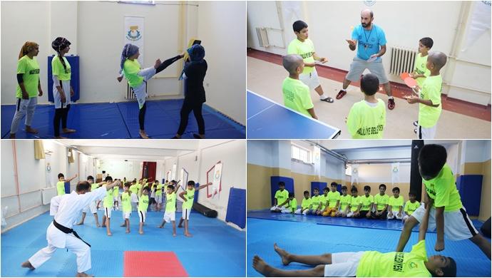 """Haliliyeli Gençler Sporla Buluşuyor"""" Projesiyle Gençler Sporu Seviyor"""