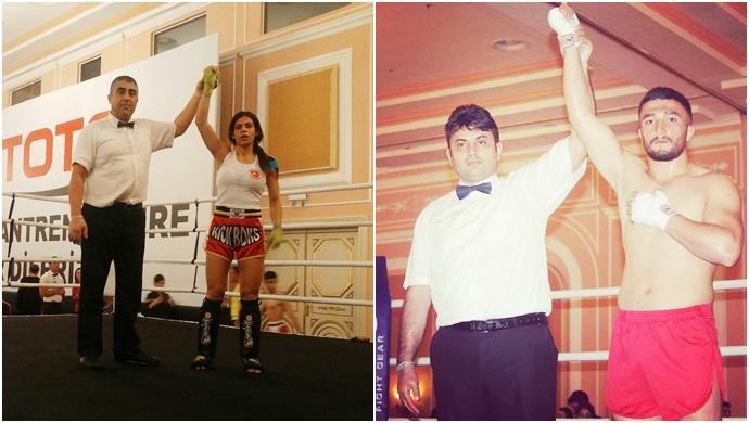 Haliliyeli Kick Bokscular, Başarılarıyla Göz Dolduruyor