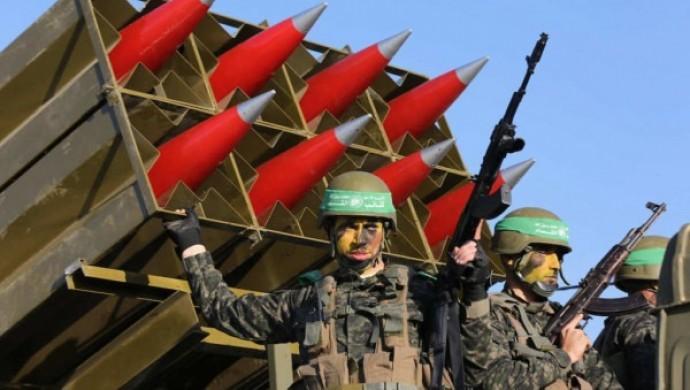 Hamas'tan Batı Kudüs'e roketli saldırı