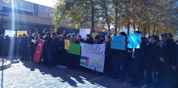 Harran Üniversites Öğrenci Konseyinden Kudüs açıklaması