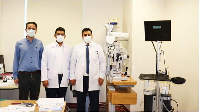 Harran Üniversitesi Hastanesinde Şaşılık Polikliniği Hizmete Girdi