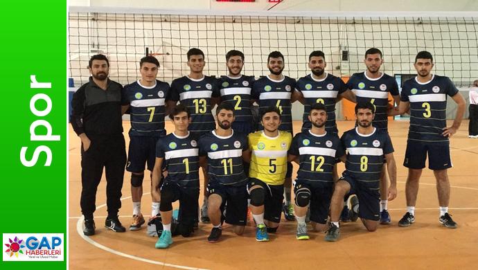 Harran Üniversitesinde Voleybol Takımı Yarı Finalde