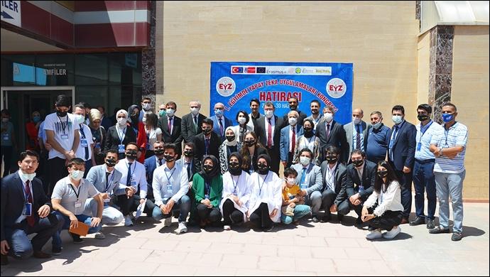 Harran Üniversitesi'nde 1. Ulusal Eğitimde Yapay Zekâ Uygulamaları Kongresi Başladı-(VİDEO)